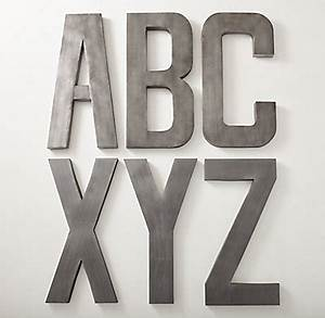 1930s french shop metal letter pewter With french shop metal letters