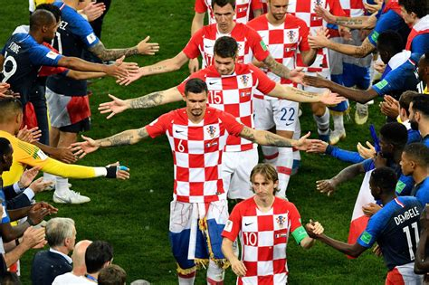 Croatia Left Heartbroken Yet Proud After Loss France
