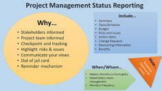 project status report template images