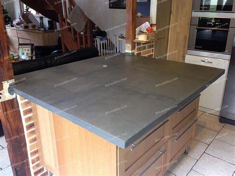 plan de travail en carrelage pour cuisine plan travail beton ciré leroy merlin images