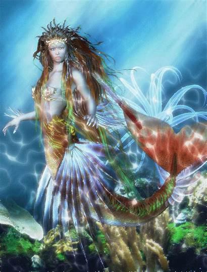 Sirenes Imaginaire Fantastique Tubes Mermaid Dreamies Psp