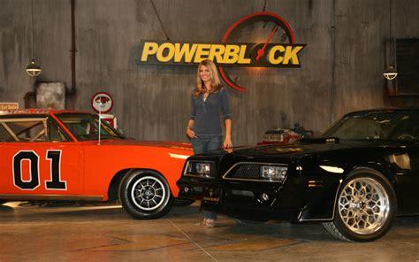 powerblock host courtney hansen celebrity drive