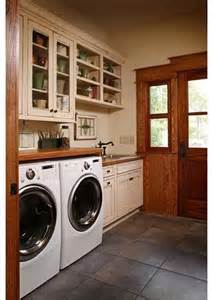 Rustic Laundry Room Cabinets
