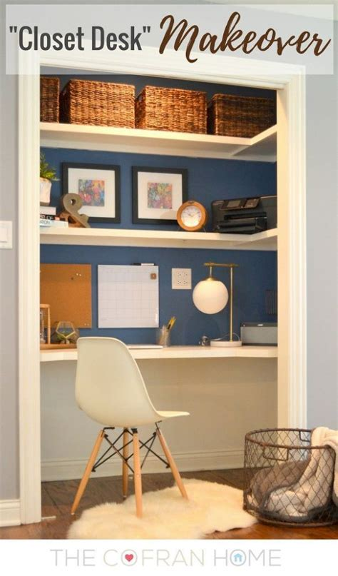 Turning A Closet Into An Office by Add A Home Office To A Spare Closet In 2019 Projects To