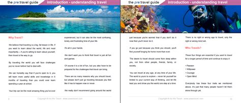 travel bureau opinions on guide book