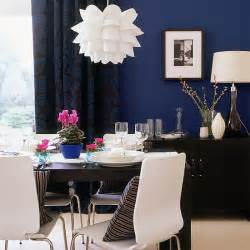 Blue Dining Room Accent Wall