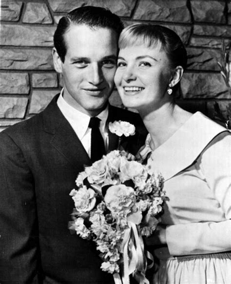 Image result for Paul Newman and Joanne Woodward were married.