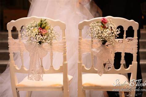 decoration chaise mariage décoration mariage chaises napoléon à l 39 église d 39 annecy