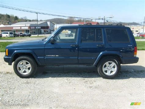 patriot jeep blue patriot blue pearlcoat 2001 jeep cherokee classic 4x4