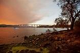 River Derwent Hobart stock image. Image of derwent ...