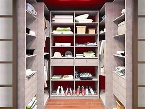 Chambre Dressing : dressing pour petite chambre conseils et astuces ooreka ~ Voncanada.com Idées de Décoration