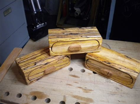bandsaw box feathered woodworking