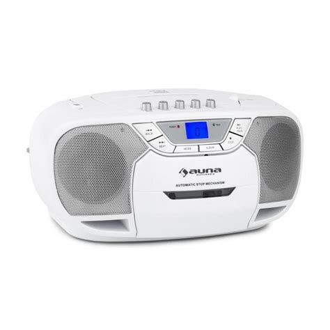 cd player mp3 beeberry boom box ghettoplaster radio cd mp3 player