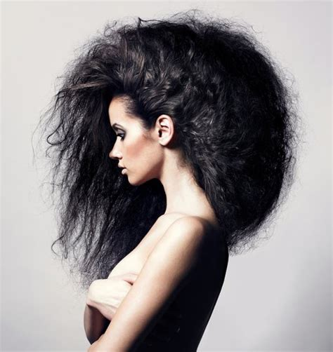 high volume hair cool hair