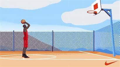 Basketball Animated Nike Basketballs Gifs Giphy Players