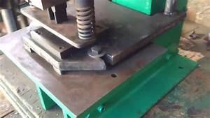 Fabricacion De Punzonadora Manual 4 Toneladas De Fuerza