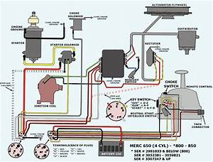 Wiring Schematic 75 85 Hp Mercury Page  1