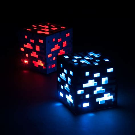 minecraft ore  mode led touch light cube light square