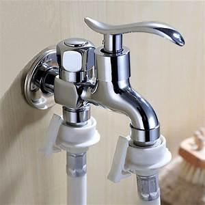 Anschluss Waschmaschine Wasserhahn : doppel wasserhahn fur waschmaschine das beste aus ~ Michelbontemps.com Haus und Dekorationen