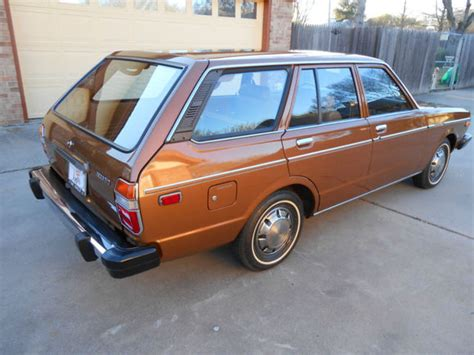 19k-mile 1978 Datsun 510 Station Wagon