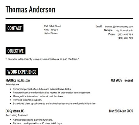 How To Create A Resume Template How To Create A Resume Resume Cv Exle Template