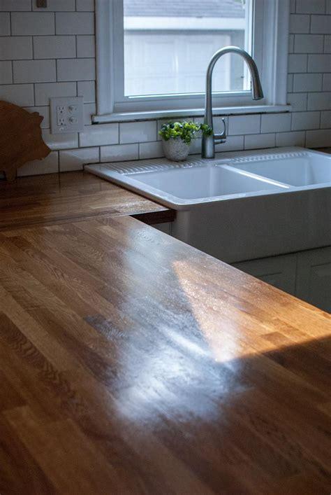 kitchen counters ikea kenangorgun com tutorial for waterloxing ikea butcher block countertops