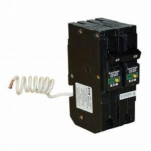 Eaton Type Br 20 Amp 1 In  Double Pole Plug