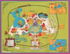 Walt Disney World Magic Kingdom Map