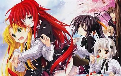 Anime Zero Highschool Dxd Rias Gremory Koneko