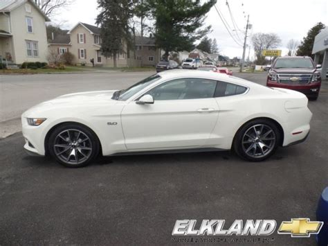 gt mustang  years anniversary limited edition