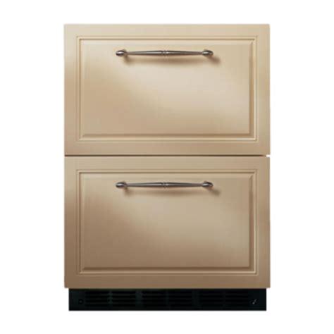 ge monogram zidibii double drawer refrigerator module adjustable temperature control led