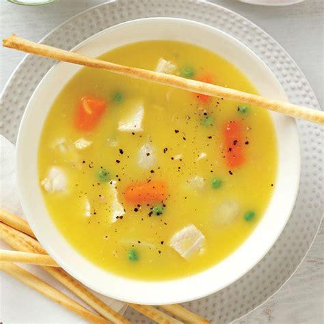 simple chicken soup recipe taste  home