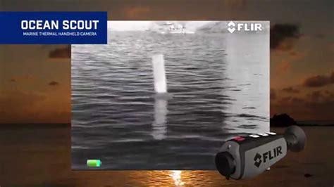 flir ocean scout handheld thermal camera youtube
