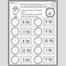 Telling Time  1st Grade By Frogs Fairies And Lesson Plans
