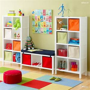 Kids Room Ideas With Storage Furniture Bedroom Decorating ...