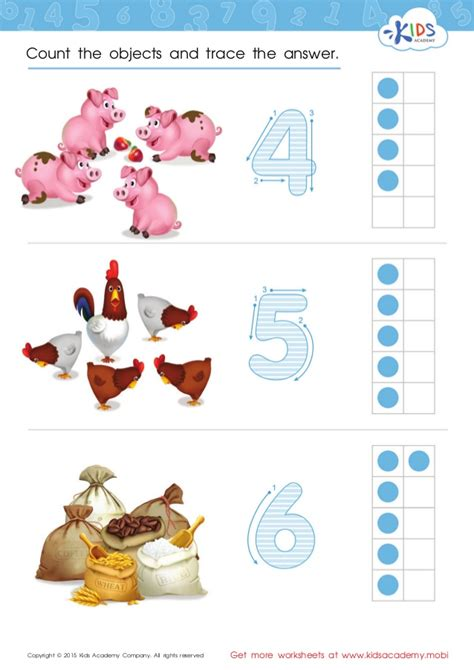 free singapore math worksheets for preschool and kindergarten