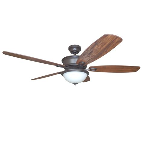 Harbor Ceiling Fans Remote by Shop Harbor Bayou Creek 56 In Bronze Indoor Downrod