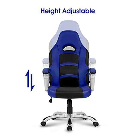 fauteuil bureau gaming langria fauteuil de bureau racing pour gaming faux cuir