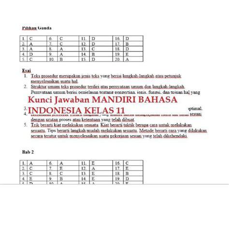 Slogan yang cocok untuk pelajar adalah …. Get Kunci Jawaban Bahasa Indonesia Kelas 11 17 Images ...