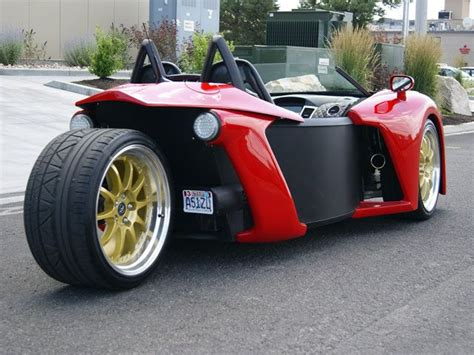 Car With 3 Wheels by Three Wheel Roadster Vanderhall Introduce Three Wheel
