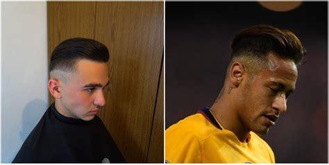 neymar jr current haircut hairstyle  season