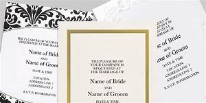 Invitations announcements at office depot officemax for Wedding invitations kits office depot