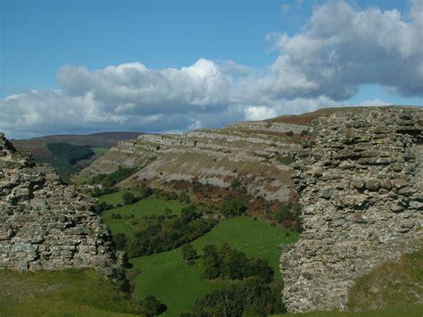 100 Great Geosites nomination: Eglwyseg Escarpment ...