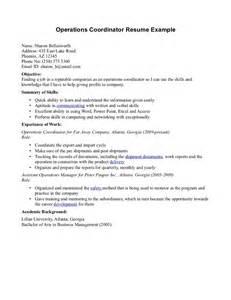 administrative coordinator resume sales coordinator