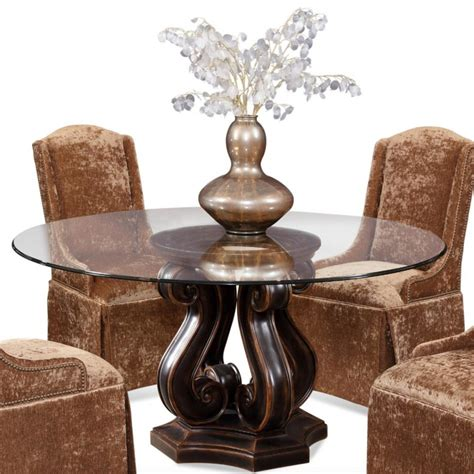 round wood dining room table furniture round dining table pedestal base bobreuterstl