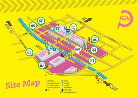 Manchester Pride 2015 See A Site Map Of The Gay Village