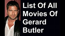 Gerard Butler Movies & TV Shows List - YouTube