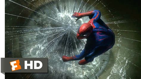 amazing spider man  lizards sewer lair scene