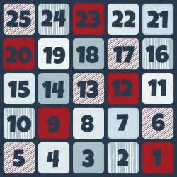 santa countdown calendar printable calendar template 2016