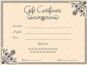 giftvoucher gifttemplate giftcertificate With reward certificate templates